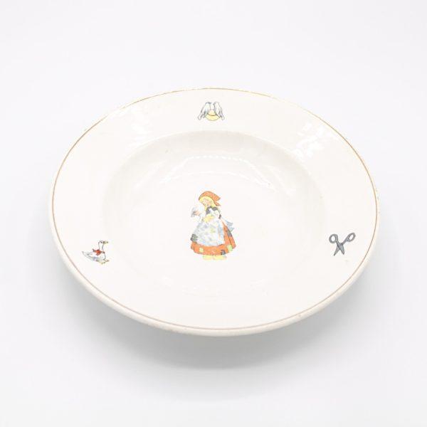 porcelain deep plate