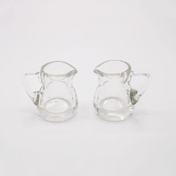 small glass pitchers