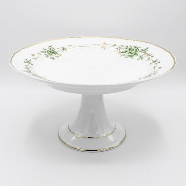 porcelain footed tray
