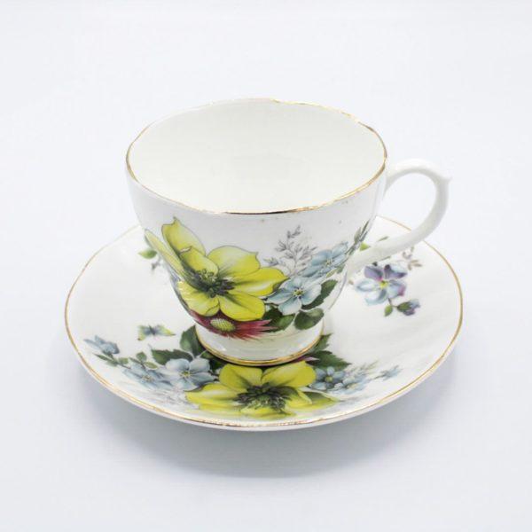 porcelain tea cup