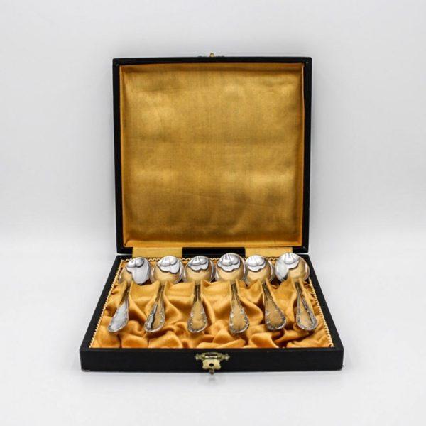 silver-plated teaspoons