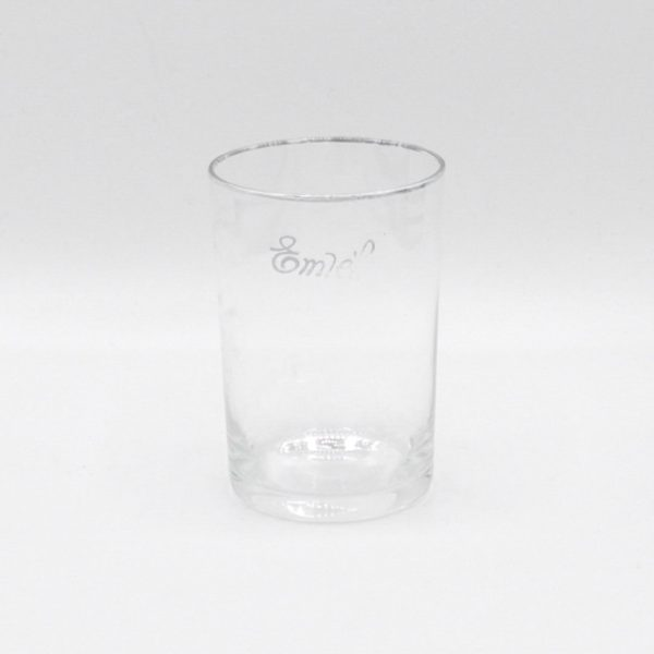 vintage drinking glass