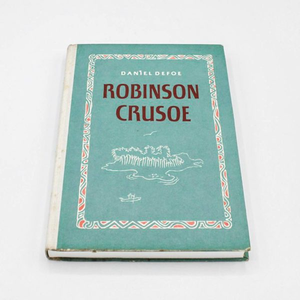 vintage notebook robinson crusoe