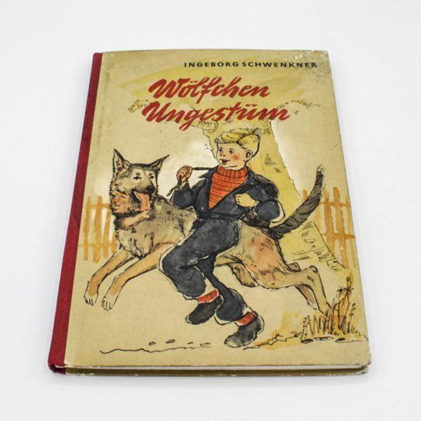 vintage notebook woelfchen ungestuem