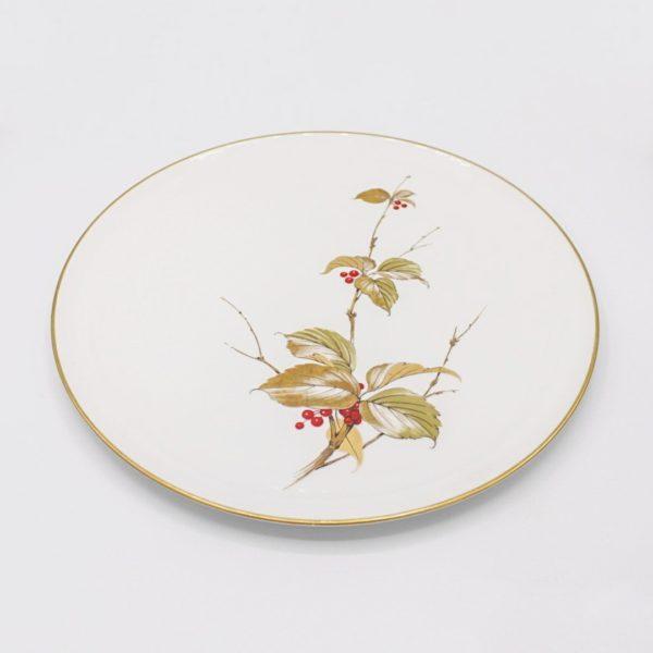 vintage porcelain tray