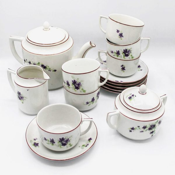 zsolnay tea set